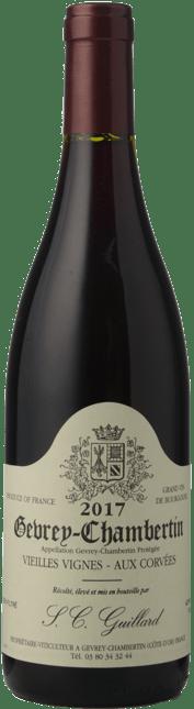 DOMAINE S.C. GUILLARD Vieilles Vignes Aux Corvees, Gevrey-Chambertin 2017
