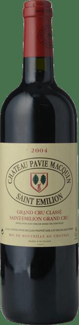 CHATEAU PAVIE-MACQUIN 1er grand cru classe (B), St-Emilion 2004