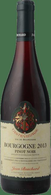 JEAN BOUCHARD Tastevinage Pinot Noir, Bourgogne 2013