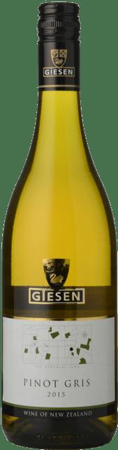 GIESEN ESTATE WINES Pinot Gris, Marlborough 2015