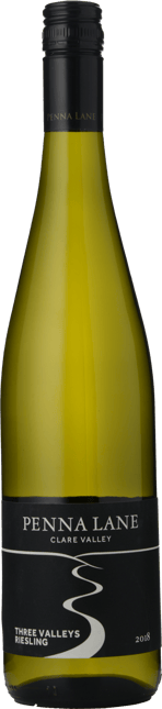PENNA LANE Three Valleys Riesling, Clare Valley 2018