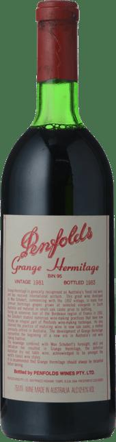 PENFOLDS Bin 95 Grange Shiraz, South Australia 1981