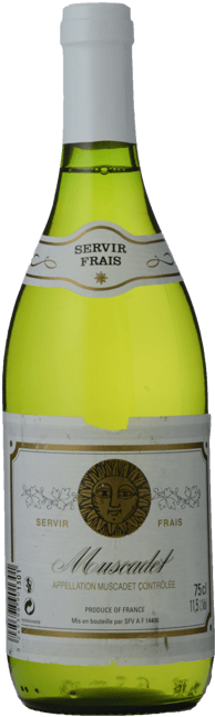 SERVIR FRAIS , Muscadet Blanc NV