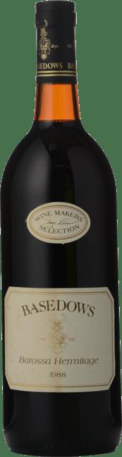 BASEDOW WINES Wine Makers Selection Shiraz, Barossa Valley 1988
