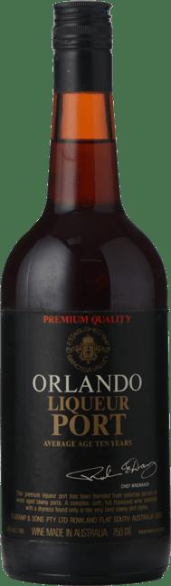 ORLANDO Liqueur Port, Barossa Valley NV