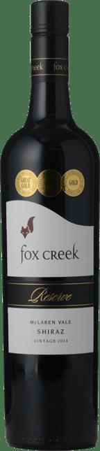 FOX CREEK WINES Reserve Shiraz, McLaren Vale 2014