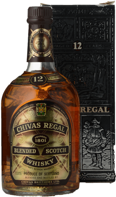 CHIVAS REGAL 12 Year Old 43% ABV , Scotland NV