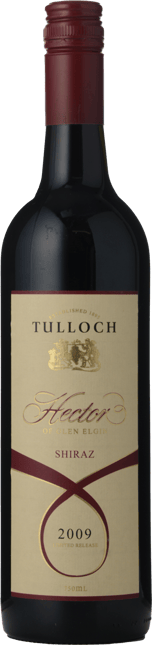 TULLOCH Limited Release Hector Shiraz, Hunter Valley 2009