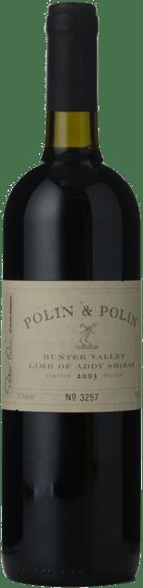 POLIN & POLIN Limb of Addy Shiraz, Hunter Valley 2003