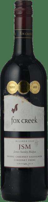 FOX CREEK WINES J.S.M Shiraz Cabernet, McLaren Vale 2014