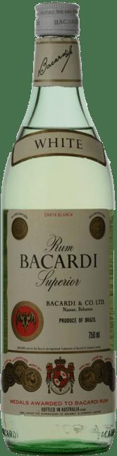 BACARDI Superior White Rum, Brazil NV