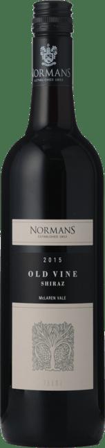 NORMANS Old Vine Shiraz, McLaren Vale 2015