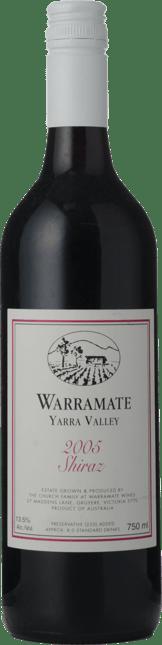 WARRAMATE White Label Shiraz, Yarra Valley 2005