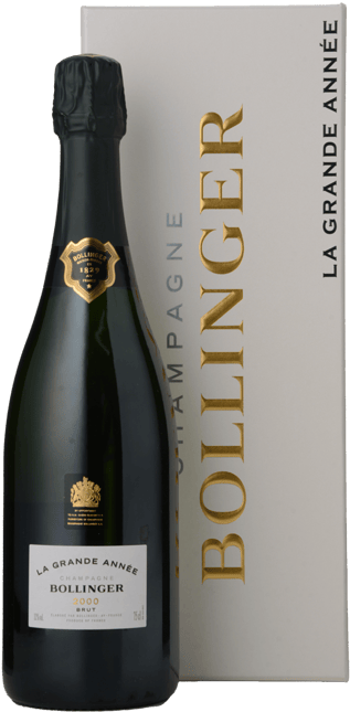 BOLLINGER La Grande Annee Brut, Champagne 2000