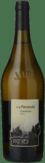 DOMAINE PIGNIER Á la Percenette Chardonnay, Cotes du Jura 2014