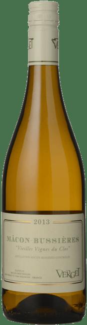 VERGET Vieilles Vignes du Clos, Macon-Bussieres 2013