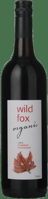 WILD FOX WINES Organic Cabernet Sauvignon, South Australia 2014