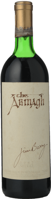 JIM BARRY WINES The Armagh Shiraz, Clare Valley 1987