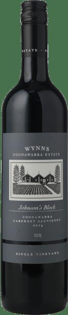 WYNNS COONAWARRA ESTATE Single Vineyard Johnson's Block Cabernet, Coonawarra 2014