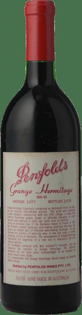 PENFOLDS Bin 95 Grange Shiraz, South Australia 1977