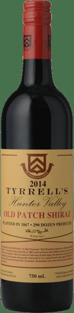 TYRRELL'S Single Vineyard Old Patch 1867 Shiraz, Hunter Valley 2014