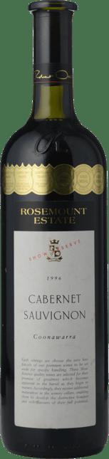 ROSEMOUNT ESTATE Show Reserve Cabernet Sauvignon, Coonawarra 1996