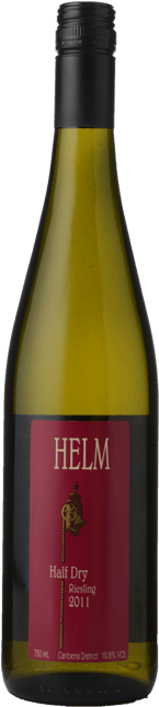 HELM WINES Half Dry Riesling, Canberra District 2011