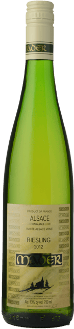 MADER Riesling, Alsace 2012