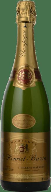 D. HENRIET-BAZIN Grand Cru Blanc de Blancs, Champagne NV