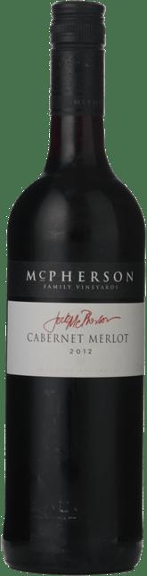 MCPHERSON WINES Jock McPherson Family Vineyard Cabernet Merlot, South Eastern Australia 2012