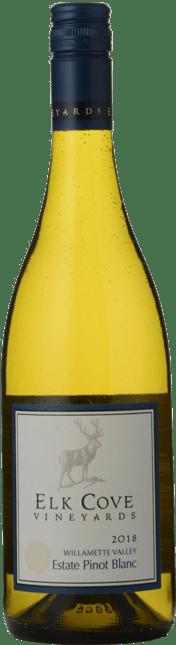 ELK COVE VINEYARDS Willamette Valley Estate Pinot Blanc, Oregon 2018