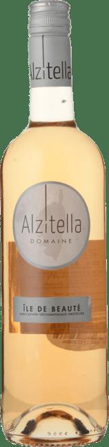 DOMAINE ALZITELLA Rose, Ile de Beaute IGP 2018