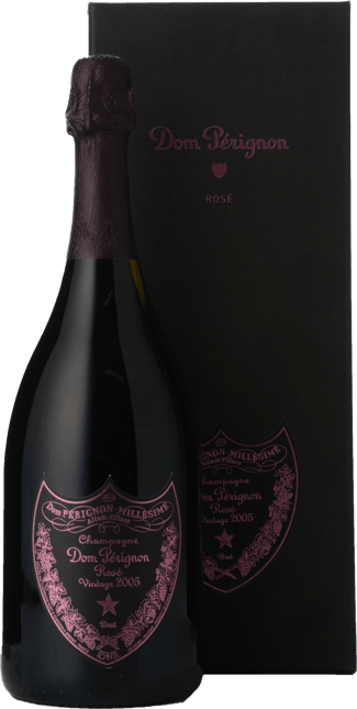 MOET & CHANDON Cuvee Dom Perignon Rose, Champagne 2005