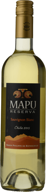 BARON PHILIPPE DE ROTHSCHILD Mapu Reserva Sauvignon Blanc, Maipo Valley 2015
