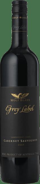 WOLF BLASS WINES Grey Label Cabernet Sauvignon, Langhorne Creek 2004