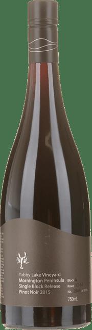YABBY LAKE VINEYARD Single Block Release Block 6 Pinot Noir, Mornington Peninsula 2015