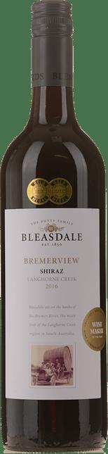 BLEASDALE VINEYARD Bremerview Shiraz, Langhorne Creek 2016