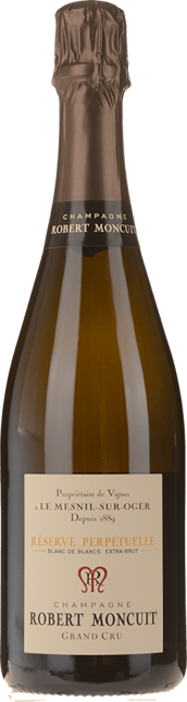 ROBERT MONCUIT Reserve Perpetuelle Grand Cru Blanc de Blancs Extra Brut,  Champagne NV