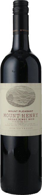 MOUNT PLEASANT Mount Henry Shiraz Pinot Noir, Hunter Valley 2011