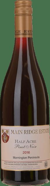 MAIN RIDGE ESTATE Half Acre Pinot Noir, Mornington Peninsula 2016