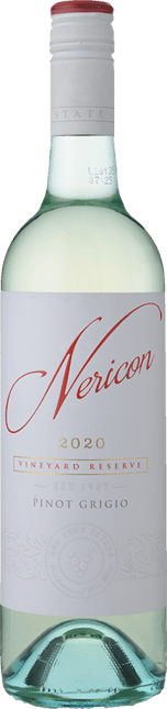 DEE VINE ESTATE Nericon Vineyard Reserve Pinot Grigio, South Eastern Australia 2020