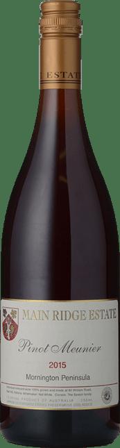 MAIN RIDGE ESTATE Pinot Meunier, Mornington Peninsula 2015