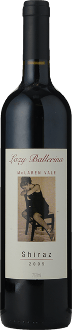 LAZY BALLERINA WINES Shiraz Viognier, McLaren Vale 2005