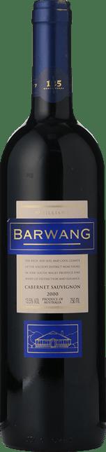 MCWILLIAM'S Barwang Vineyard Cabernet Sauvignon, Hilltops 2000