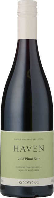 KOOYONG WINES Haven Pinot Noir, Mornington Peninsula 2013