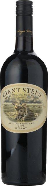 GIANT STEPS Sexton Merlot, Yarra Valley 2008