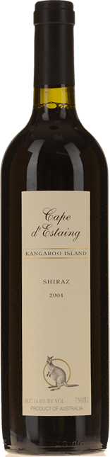 CAPE D'ESTAING Shiraz, Kangaroo Island 2004