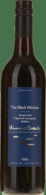 MINNOW CREEK The Black Minnow Sangiovese Cabernet Malbec, Adelaide 2009