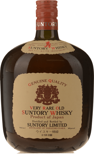 SUNTORY Old Suntory Whisky 43% ABV, Japan NV