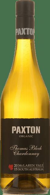 PAXTON WINES Thomas Block Chardonnay, McLaren Vale 2015